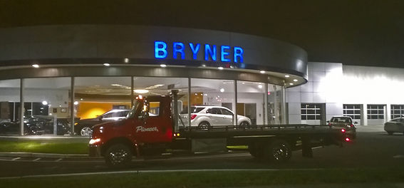 bryner towing