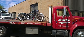 mtorcycle towing