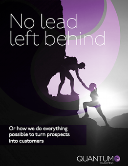 Lead Generation: No lead left behind