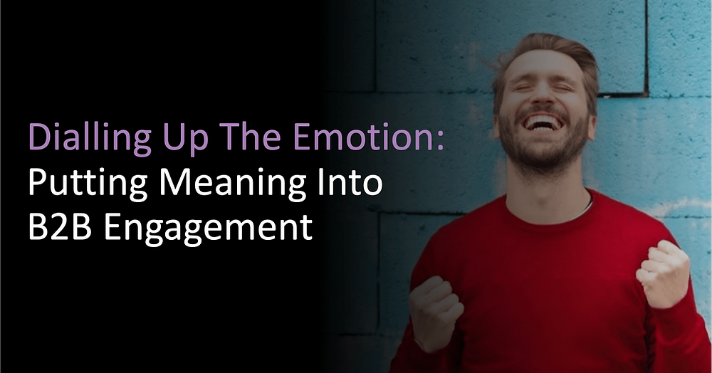 putting meaning into B2B engagement