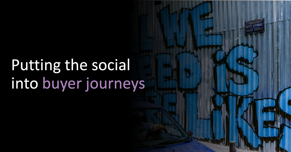 Putting the social into buyer journeys