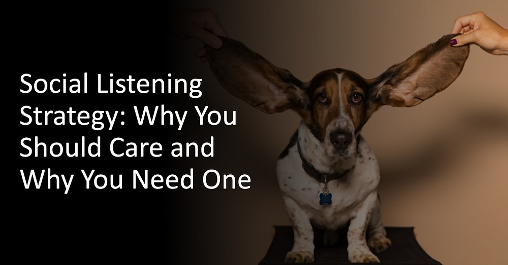 Social Listening Strategy: Why You Should Care and Why You Need One