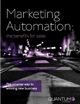The benefit of Marketing Automation for sales