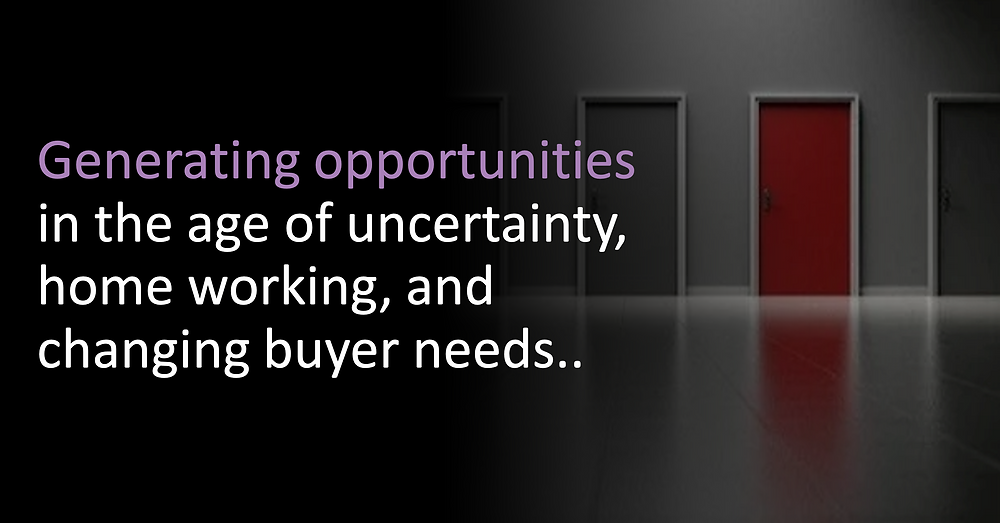 Generating opportunities - Choosing the right approach