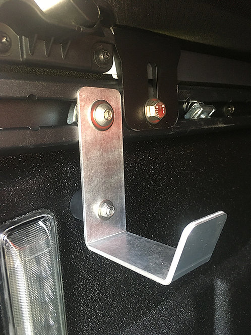 813 Fabrication & Design Hose, Accessory Hook for Jeep Gladiator Trail Rails and Toyota Tacoma