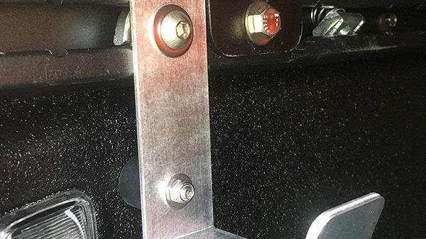 Hose / Accessory Hook for 2020+ Jeep Gladiator Trail Rails / Toyota Tacoma