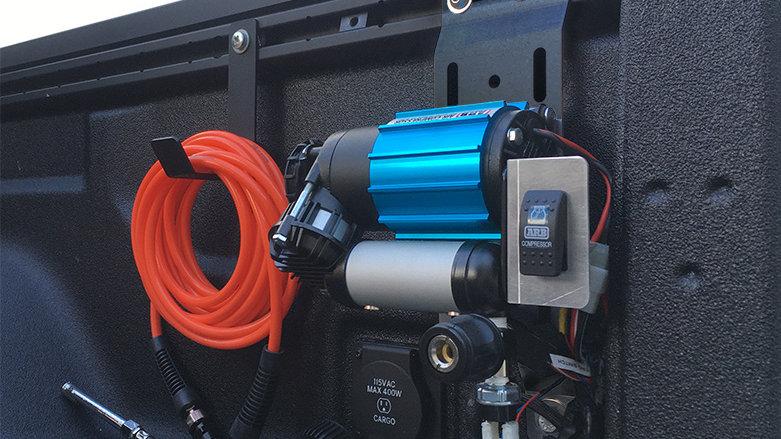 ARB Single Compressor Bed Mount for 2020+ Jeep Gladiator