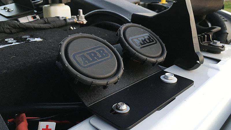 UnderHood Remote Air Filter / Dual Air Chuck Plate