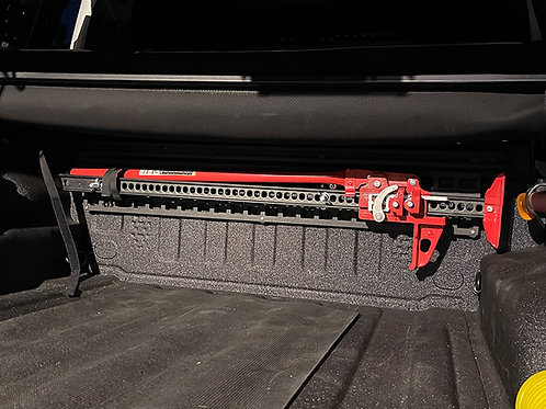 813 Fabrication & Design Hi-Lift Jack Mount - Bed Side or Cab Side MOLLE Panel
