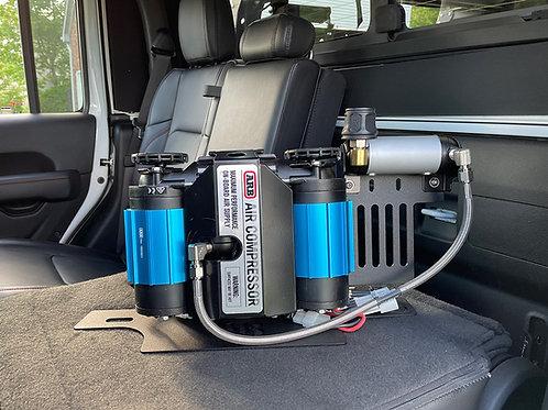 813 Design & Fabrication Behind the Seat ARB Compressor Locker Manifold Kit
