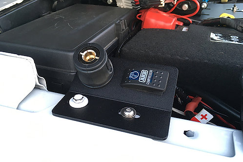813 Fabrication & Design UnderHood Remote Rocker Switch / Air Chuck Plate