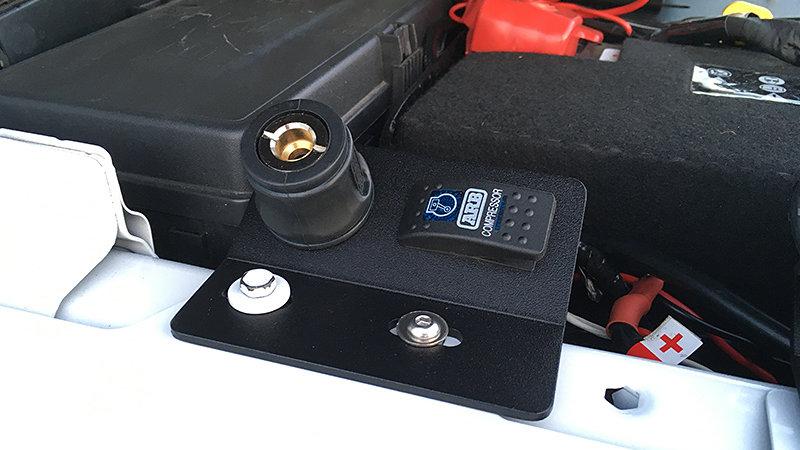 UnderHood Remote Rocker Switch / Air Chuck Plate