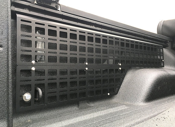Full Bed Side MOLLE Panels w/Full MOLLE Lower Panel