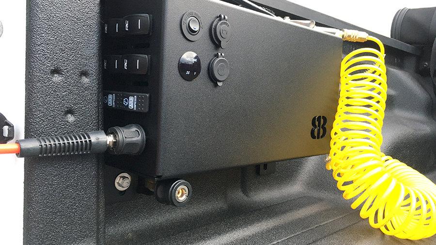 Bed Side Compressor Enclosure for ARB Twin/Single Compressors