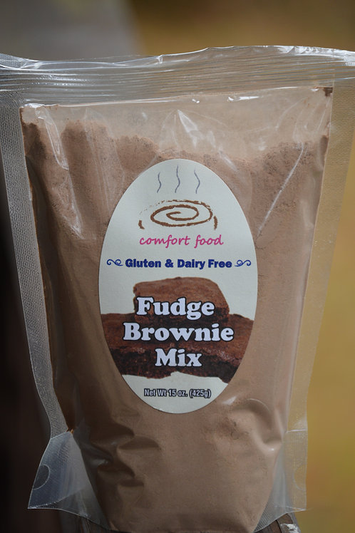 Gluten and Dairy-Free Fudge Brownie Mix