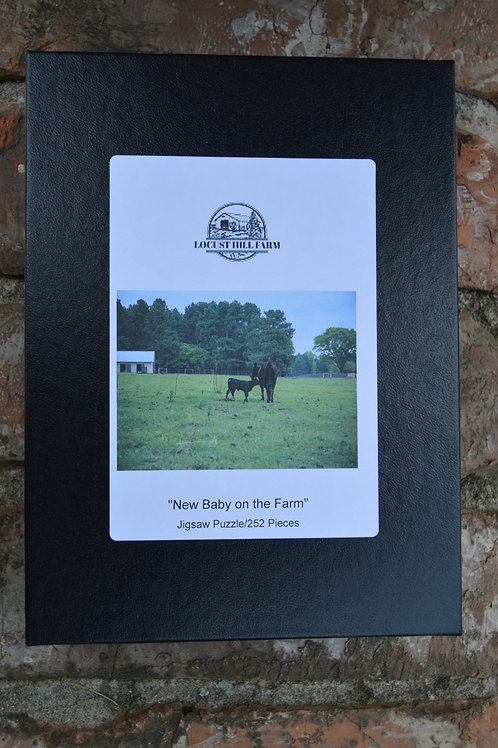 New Baby on the Farm - Jigsaw Puzzle
