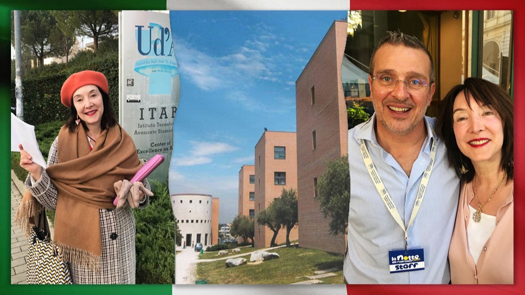 "Dr. Laura-Ann Petitto Invited ""Visiting Researcher"" at Chieti-Pescara, Italy"