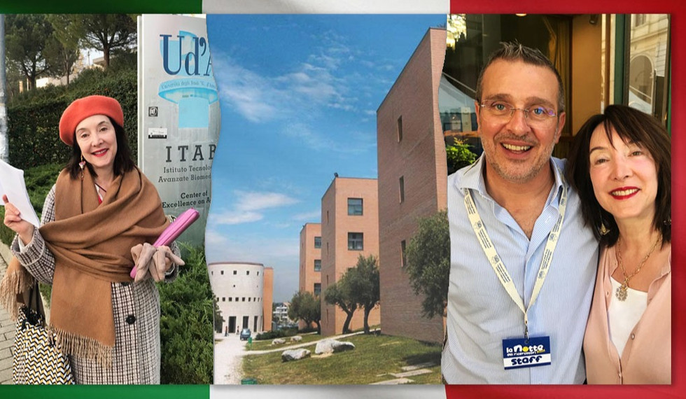 """Dr. Laura-Ann Petitto Invited """"Visiting Researcher"""" at Chieti-Pescara, Italy"""