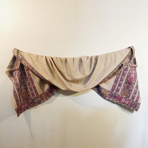 Tan Kashmiri shawl