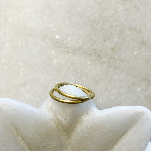 Small gold rings