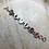 Thumbnail: Rhodocrosite silver bracelet
