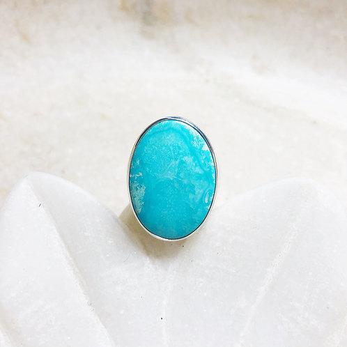 Arizona turquoise silver ring