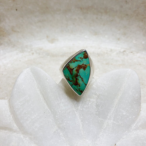 Arizona turquoise silver ring
