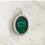 Thumbnail: Malachite silver pendant