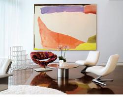 Elle decor, Helen Frankenthaler