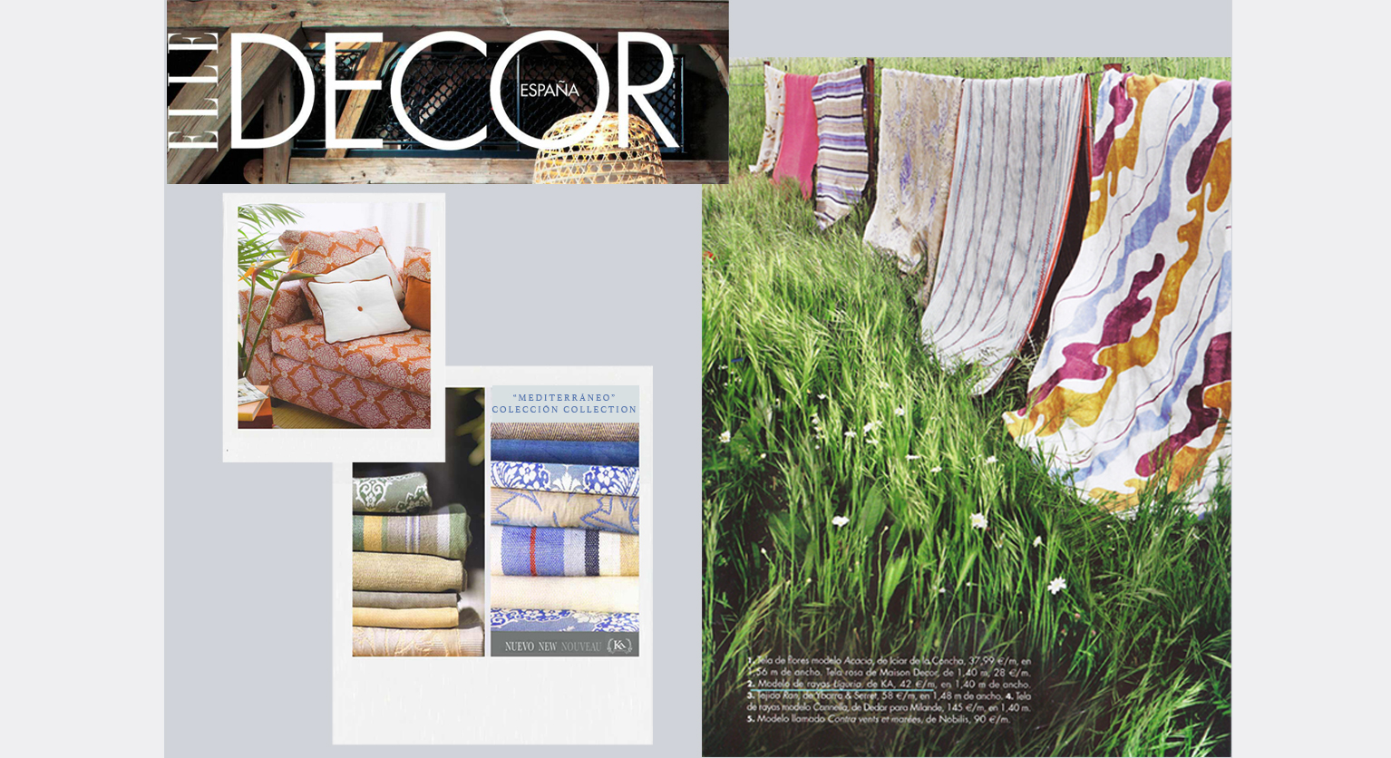 #chioleon for KA & Elle-Decor ad