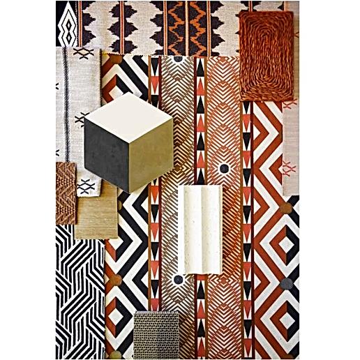 Moodboard África colección textil