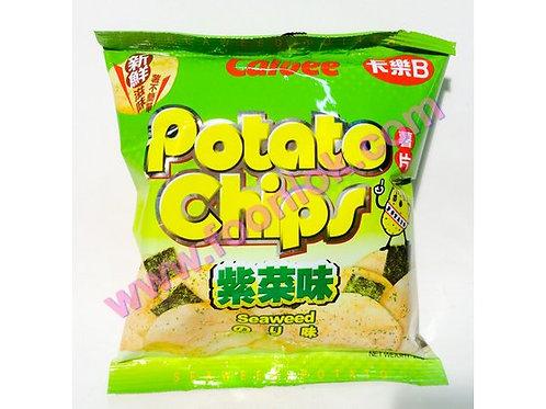 25g卡樂B薯片(紫菜)  (1箱x30包)
