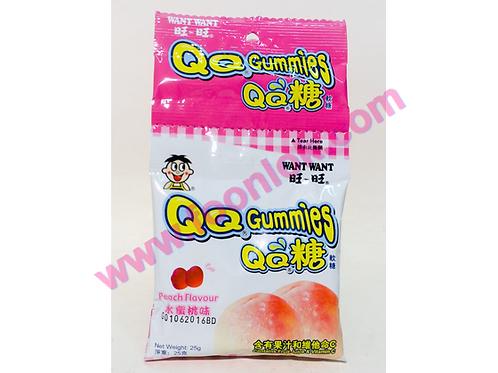 旺旺QQ糖(桃味)  (1袋x20包)
