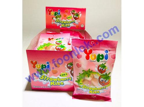 45g Yupi橡皮糖(士多啤梨)  (45gx12包)