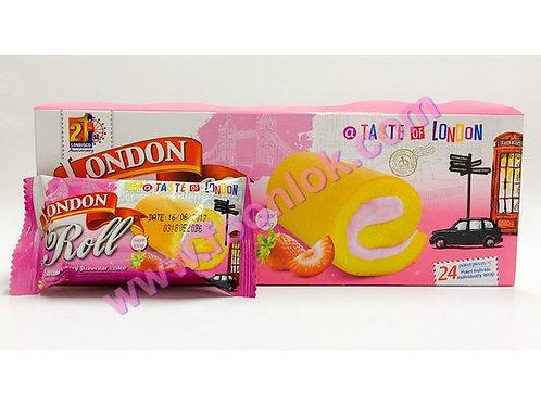倫敦瑞士卷(草莓)   1盒x24包