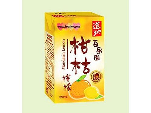 250道地柑桔檸檬(250mlx24包)