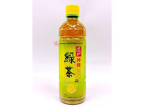 支裝道地(檸檬)綠茶(500mlx24支)