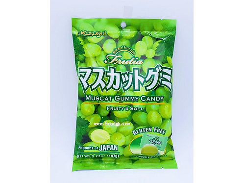 春日井橡皮糖(青提)  (107g)