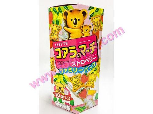家庭裝樂天熊仔餅(草莓)(19.5gx10包)