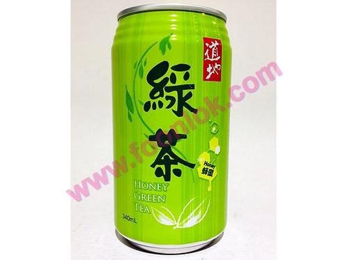 罐裝道地蜂蜜綠茶(340mlx24罐)