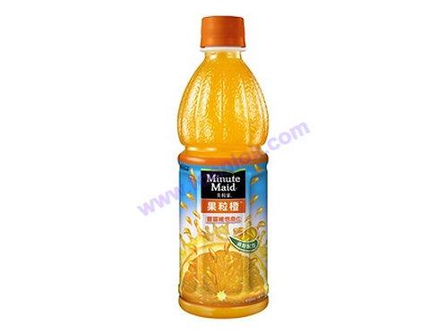 美粒果橙汁(450mlx24支)