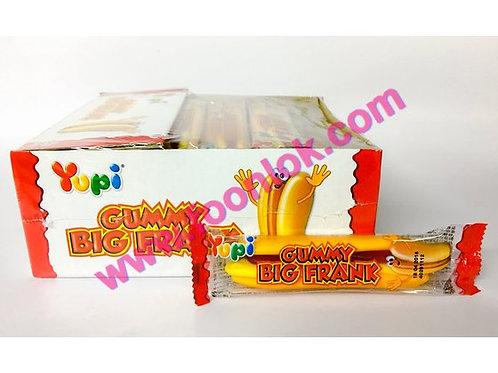 Yupi珍寶熱狗橡皮糖  (1盒x24包)