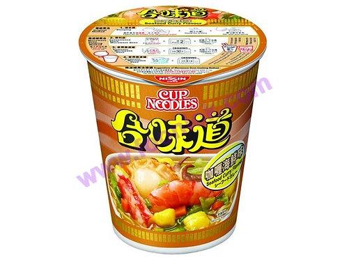 合味道杯麵(咖喱海鮮)(1箱x24杯)