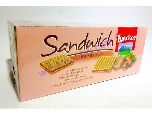 盒裝萊家威化餅(榛子)45gx25包