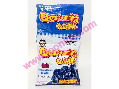 旺旺QQ糖(藍莓)  (1袋x20包)