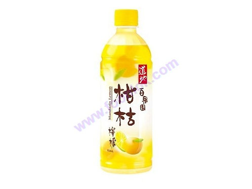 支裝道地檸檬柑桔(500mlx24支)