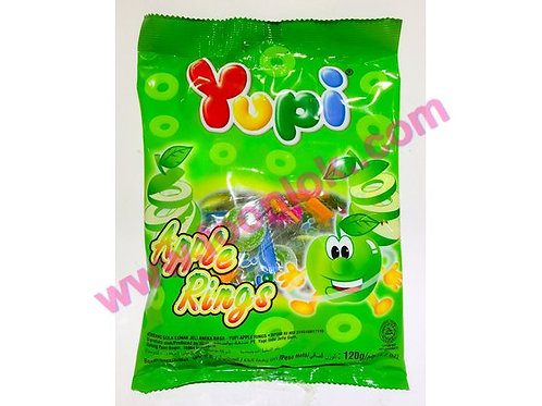 單粒Yupi橡皮糖(蘋果圈)  (120g)