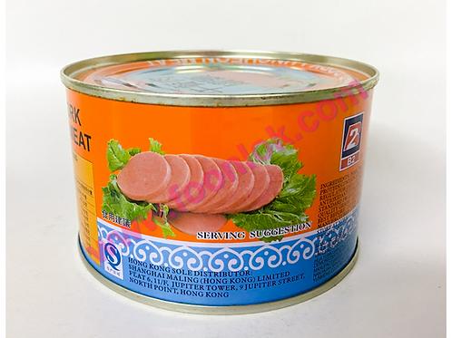 0上海梅林午餐肉罐頭 (397g)