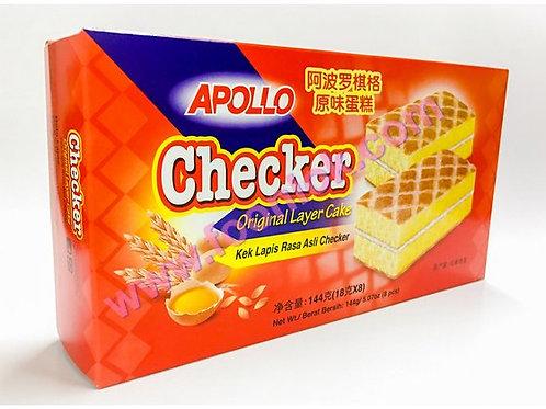 亞波羅蛋糕(原味脆格)1盒x8包