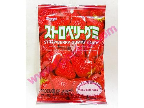 春日井橡皮糖(士多啤梨)  (107g)